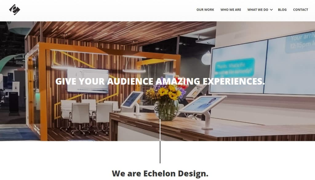 Echelon Design: Marketing Agnecy