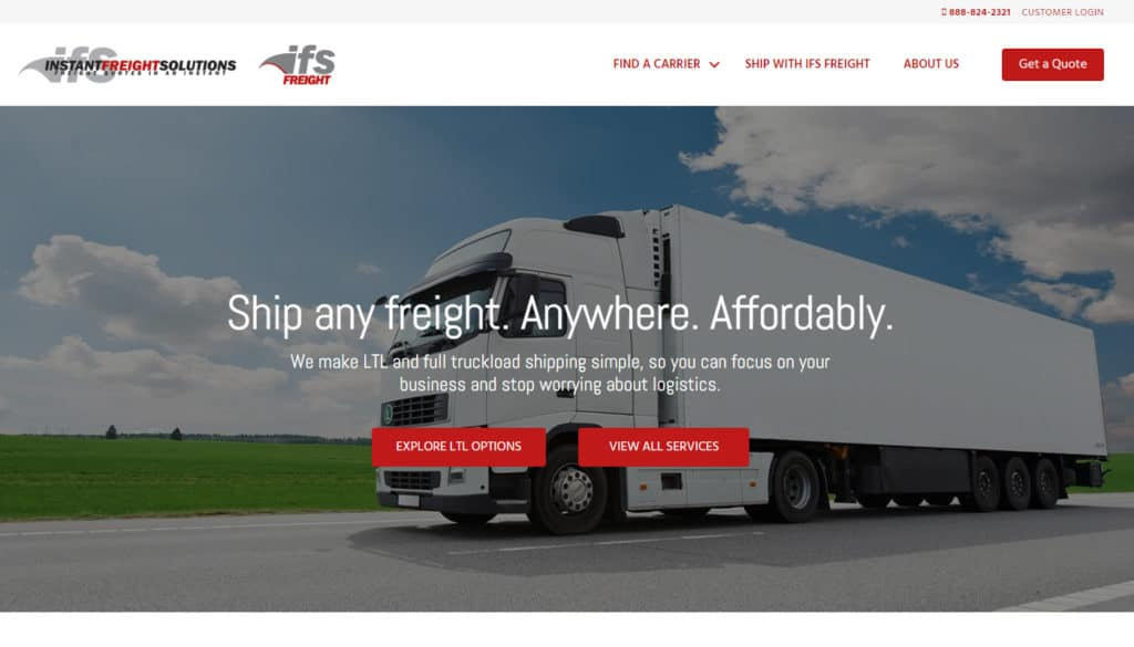 ifsfreight: Logistics and Shipping Company