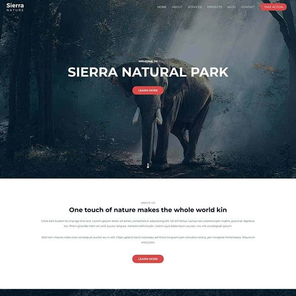 nature theme design 1