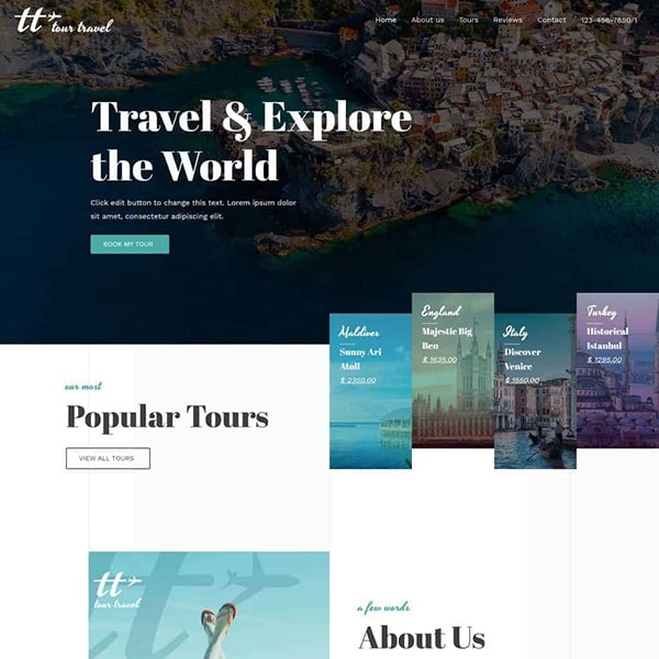 travel agency design 1