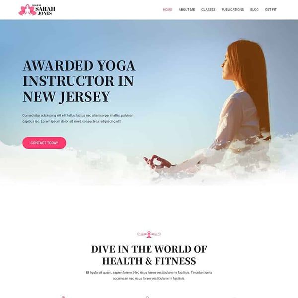 yoga instructor design 1
